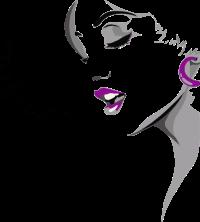 femme chante